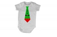 Elf Tie - Christmas - SS - Baby Grow Photo