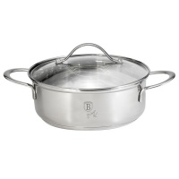Berlinger Haus 24cm Stainless Steel Shallow Pot - Silver Jewellery Edition Photo