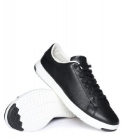Men's Grandpro Tennis Sneaker - Black Photo