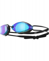 Tyr Tracer X Racing Mirrored Goggles Blue/Black Photo