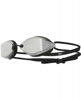 Tyr Tracer X Racing Mirrored Goggles Silver/Black Photo