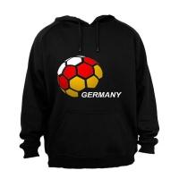 Germany - Soccer Ball - Hoodie Photo