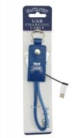 Blue True legend USB Charging Cable Key Ring Photo