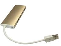 ZATECH 4 Port HUB Gold USB 2.0 480MBPS Photo