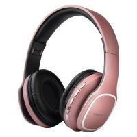 Volkano Phonic Series Bluetooth Headphones - Rose Gold Photo