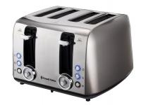 Russell Hobbs Vintage 4-Slice Toaster - Grey Photo