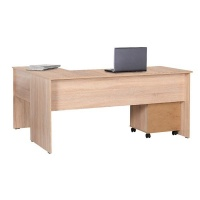 Adore Rio Office L-Shaped Table 5 yr Warranty Photo