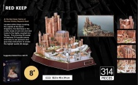 Game of Thrones: Red Keep 3D Puzzle Photo