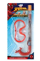Marvel Spiderman Mask And Snorkel Set Photo