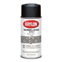 Krylon Webbing Spray Black Lava - 118ML Photo