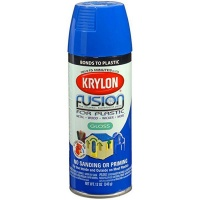 Patriot Krylon Fusion Plastic Gloss Blue - 354ml Photo