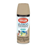Krylon Fusion Plastic Satin Khaki - 354ml Photo