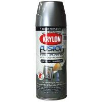 Krylon Plastic Paint Metallic Nickle 473ml Photo