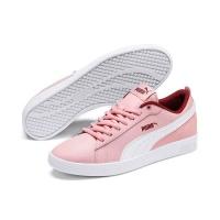 Puma Women's Smash V2 L Tennis Inspired Shoes - Pink/White Photo