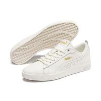 Puma Women's Smash V2 L Tennis Inspired Shoes - White Photo