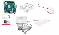 Raspberry Pi 3 Model A 512Mb RAM - Starter Kit Noobs Mouse & Keyboard Photo