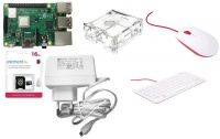 Raspberry Pi 3 B Starter Kit 1Gb Ram micro-SD Card Case Photo