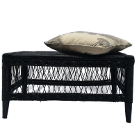MALAWI & SONS Coffee Table Bench - Black Photo