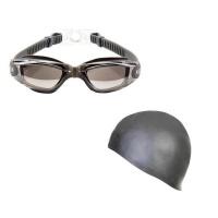 Goggles Black & Grey Cap Photo
