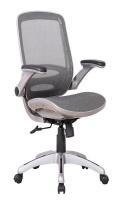 Dylan Task Mesh Chair - Silver Photo