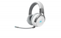 Corsair Virtuoso RGB Wireless Gaming Headset - White Silver Photo