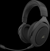 Corsair HS70 Pro Wireless Gaming Headset - Carbon Photo