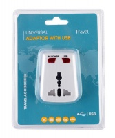 MotoQuip Travel Universal Adapter With USB Photo