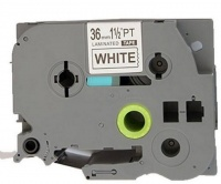 Brother TZ 261 Label Tape Laminated Blk/Wht - Compatible Photo