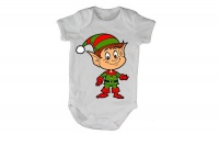 Christmas Elf - SS - Baby Grow Photo