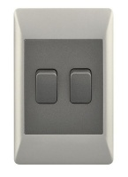 2 Lever 2 Way Light Switch for 2 X 4 Electrical Box Photo