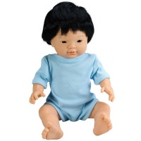 Les Dolls: Anatomically Correct Asian Baby Boy Doll with Hair Photo
