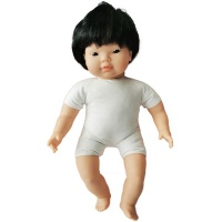 Les Dolls: Soft-Body Asian Baby Doll with Hair Photo