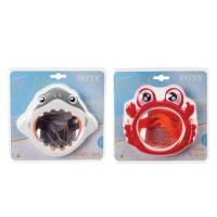 Bulk Pack X 2 Intex Fun Swim Mask - Ages 3-8yr Photo