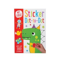 Book Sticker Dot To Dot Photo