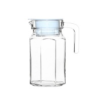 Bee Glass - Glass Fridge Jug with lid - 650ml Photo