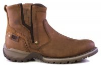 Caterpillar Mens Evander P715334 Elastic Slip-On Style 9512 Boots - Brown Photo