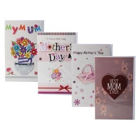 Bulk Pack x 4 Mothers Day Card & Envelope Photo