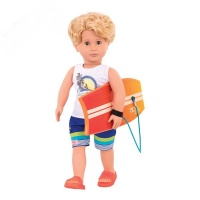 "Our Generation Classic Boy Doll Surfer Gabe 18"" Blonde Photo"