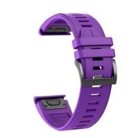 Killerdeals Silicone Strap For 26mm Garmin Fenix 5X/6X Plus - Purple Photo