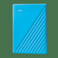 WD MY Passport 2TB Portable Hard Drive - Blue Photo