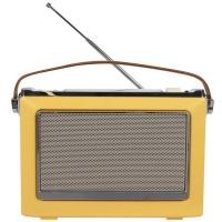 70'S Bluetooth Radio Yellow Photo