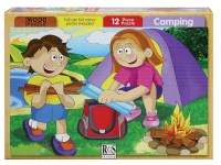 RGS Group Camping Wooden Puzzle- 12 Piece Photo