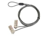 Targus Defcon Serialized Double Dual Head Lock Combination Photo