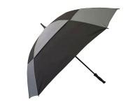 Alice Umbrella Golf Manual Open Fibreglass Frame Rubberised Handle Photo