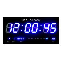 LED Display Number Clock - White Photo