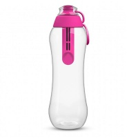 PearlCo Water Filter bottle including 1 filter cartridge 0 7L – Pink Photo