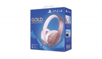 Playstation 4 Rose Gold Wireless Stereo Headset Photo