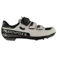 Muddyfox Mens RBS 200 Cycling Shoes - Silver [Parallel Import] Photo