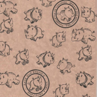 Gift Wrapping Paper 5m Roll - Save Our Rhinos Photo