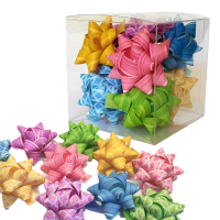 Star Bows In A Box - Pastels Photo